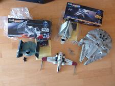 Revell Easy Kit Star Wars 5 Raumschiffe Millenium Falcon Imperial Shuttel usw.