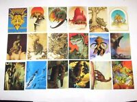 1993 William Stout LOST WORLDS SERIES 1 Trading Card Set JURASSIC WORLD FANTASY!