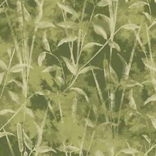 PAINTBRUSH STUDIO PRETTY FOXY BAMBOO ALL GREEN COTTON BTY