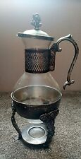 Antique English Silver Coffee Urn English Silver Manufacturing Corp MRRS USA TR