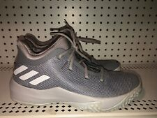 Adidas Rise Up 2 Mens Athletic Basketball Shoes Size 8.5 Gray White