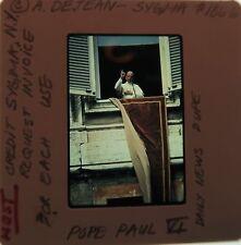 POPE PAUL VI 1963-1978 Archbishop of Milan Second Vatican Council ORIG SLIDE 4