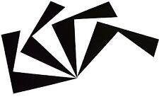 "Heat Transfer Vinyl Kit of 12 Sheets (HTV VInyl PREMIUM) 15"" x 12"" Black / White"