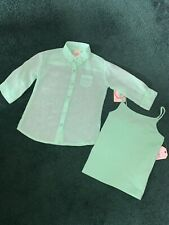 NWT Girls size 4 / 5 Faded Glory shirt with cami