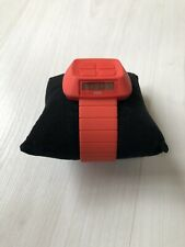 o.d.m. design - Michael Young Reverse Watch - Red odm - Retro Designer Watch