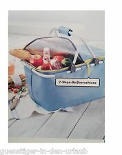 TCM Tchibo Kühltasche Kühlkorb Picknick Tasche Korb Einkaufskorb Shopper
