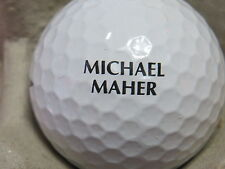 (1) Michael Maher Signature Logo Golf Ball (Merill Lynch Skins Game)