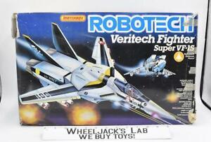 Veritech Fighter VF-1S Harmony Gold Roy Focker Robotech Macross 1986 Matchbox