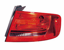 2009 - 2012 AUDI A4 TAIL LAMP LIGHT OUTER BULB TYPE RIGHT PASSENGER SIDE