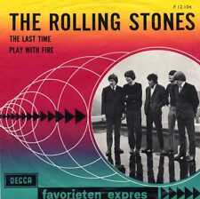 """ROLLING STONES """"THE LAST TIME"""" ORIG HOLL 1965 VG++/VG++"""