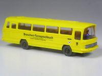 TOP: Wiking Sondermodell Mercedes O 302 Omnibus Greven Branchenfernsprechbuch