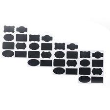 16x/32pcs Chalkboard Blackboard Chalk Board Stickers Craft Kitchen Jar Labels R 2p