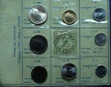 REPUBBLICA ITALIANA DIVISIONALE  MONETE LIRE ANNO 1969 FDC CON 500 ARGENTO
