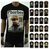 Graphic T- Shirt MEXICO EL CHAPO LOTERIA Card Drinking Borracho Spanish Hipster
