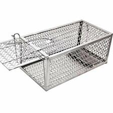 Lulu Home Mouse Trap, Humane Live Cage Trap for Mice, One-door small