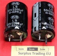 Nover LS Snap-In Radial Electrolytic Capacitor 2200uF 50V 85C