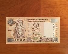 Cyprus 1 Pound 2004 P-60d> UNC