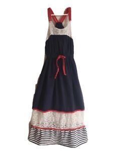 Vintage Size 8 Girls Bonnie Jean 4TH OF July Dress