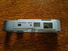 Leica M5  plate calotta parts
