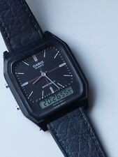 Vintage Rare 1980s Casio Watch Analogue Digital AQ-48 Japan Korea VGC Perfect!
