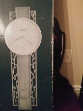625-341 -HOWARD MILLER- 625341 TREVISO WALL CLOCK WITH ANTIQUE PLATINUM FINISH