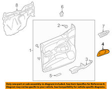 Chevrolet GM OEM 02-09 Trailblazer Front Door-Handle Bezel Right 15214502