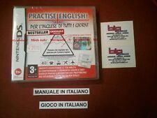 PRACTISE ENGLISH PER L'INGLESE DI TUTTI I GIORNI NINTENDO DS PAL ITA NUOVO