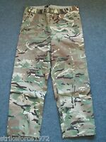 "NEW - MTP Multicam Zip Leg Goretex Waterproof Trousers - 80/104/120 - 42"" Waist"