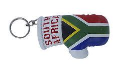 Porte clés Drapeau Afrique du sud Mini gant de boxe clé clefs voiture moto NEUF