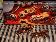 SCHUCO NOS CHRISTMAS 2009 PORSCHE 935 & 917 K, GOLD LIMITED EDITION PICCOLO SET.