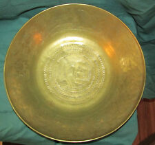 Large Antique Style Brass Bowl or Basin Chinese