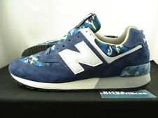 New Balance 576 Made In USA CAMO 12 US576CM1 blue navy burn rubber 577 1600