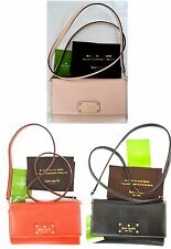 NWT Kate Spade Natalie Wellesley Leather Clutch Convertible MINI Cross body Bag