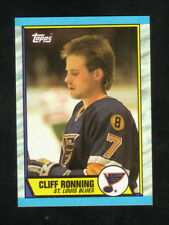 Cliff Ronning Rookie Card--St Louis Blues--1989-90 Topps Hockey