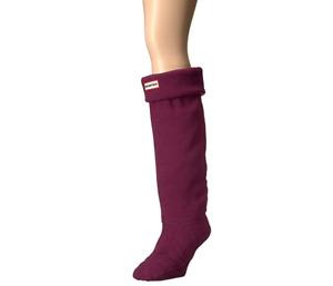 Hunter Original Womens Violet Tall Boot Socks Sz L 0071