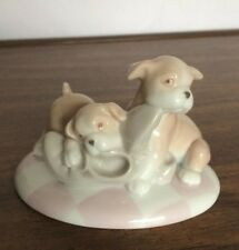 Boxers playing w/shoes Figurine -Hand painted Porcelain Valencia by Roman #47059