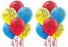 12ct PAW Patrol Balloons ~ PAW TASTIC Printed Latex Balloons Birthday Decoration
