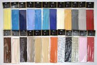 Three Pleat Satin Hat Band Replacement BRUNO CAPELO 34 Colors