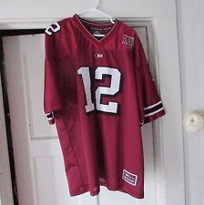 Texas A&M 12th Man Football Jersey Size XL Pre-owned Nice 12 Aggies Gig 'Em