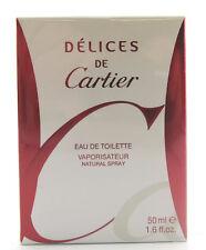 (GRUNDPREIS 279,80€/100ML) CARTIER DELICES DE CARTIER 50ML EAU DE TOILETTE SPRAY