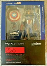 BRAND NEW SEALED Figma Captain America 226 Max Factory MASAKI APSY Action Figure