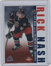 02-03 2002-03 VANGUARD RICK NASH ROOKIE RC /1650 109 COLUMBUS BLUE JACKETS