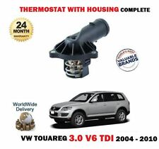 Para VW Touareg 3.0 V6 Tdi 225BHP Bks 2004-2010 Nuevo Termostato + Viviendas Kit