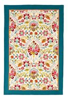 "Ulster Weavers, ""Bountiful Floral"", Pure linen printed tea towel."