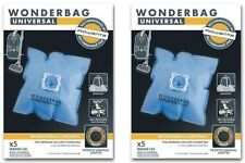Lot 2 Paquets de 5 sacs WONDERBAG ORIGINAL WB406120 WB406111 ROWENTA ORANGE