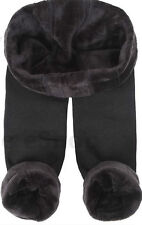 Women Ladies New Winter SOFT Thermal Thick Fur Fleece Lined Legging UK 8-18