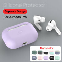 For AirPods Pro Apple Wireless Charging Case Silicone Protective Case Cover Skin