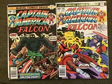 Captain America 204, 205 Fine Condition 1st Argon App Story + Art By Jack Kirby!