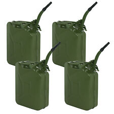 LOT 4-5Gal 20L Metal Gasoline Fuel Caddy Can Tank Emergency Backup Wholesale