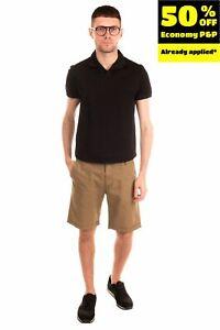 RRP€105 GANT RUGGER Shorts Size 30 Zip Fly Linen Blend Garment Dye Worn Look